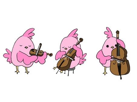 작은 새와 악기 [현악기 편]