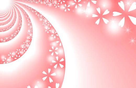 Texture · Sakura (thin crimson)