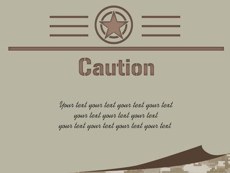 Military card 01