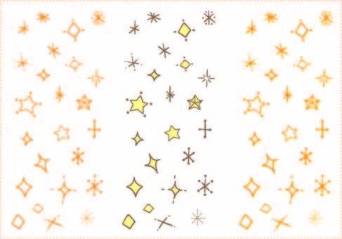 Handwritten glitter