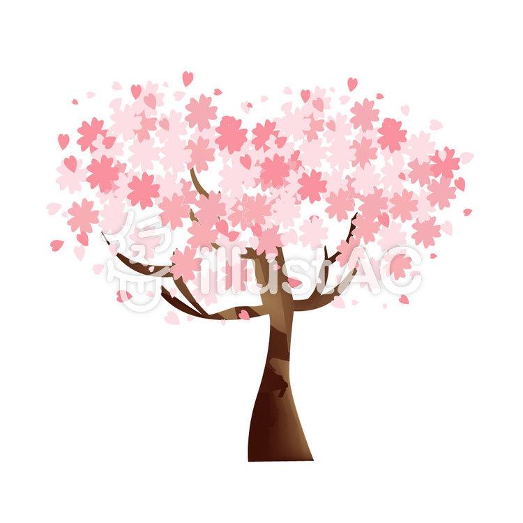 桜の木イラスト No 352150無料イラストならイラストac