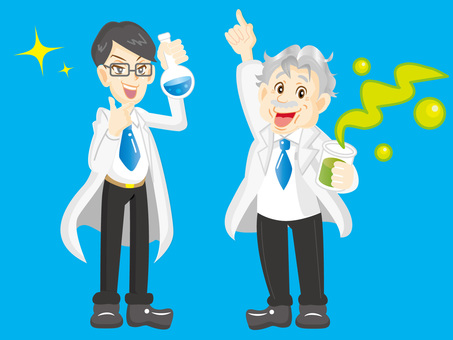 Scientist duo_No contour