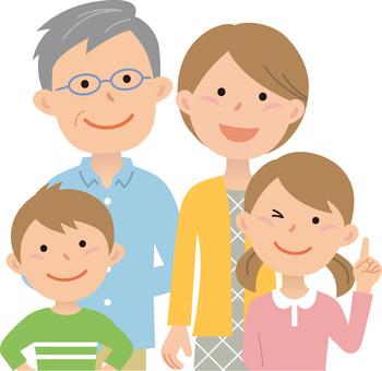 80701.二世代家族,四人