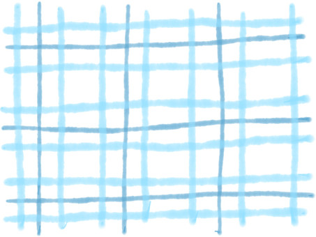 Hand-painted check pattern 1