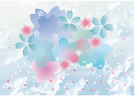 환상적인 벚꽃