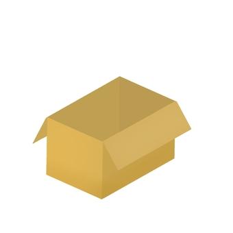 Empty cardboard (no contour)