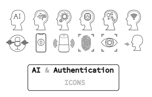 Icon set [AI & authentication]