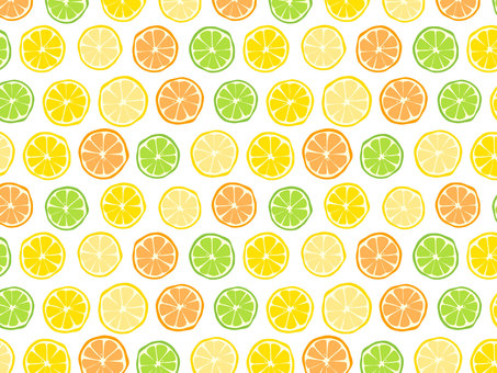 Citrus pattern 2