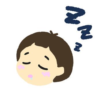 Sleeping girl right