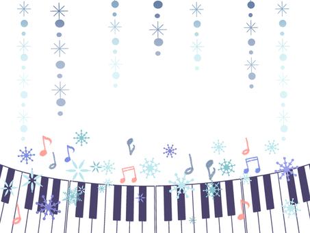 음악과 눈송이 01