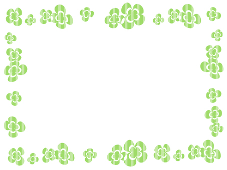 Clover decorative frame 10