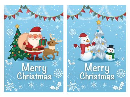 クリスマスカードセット03