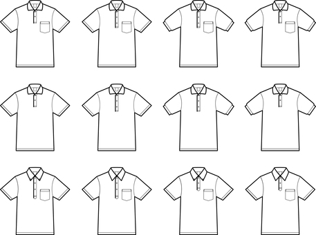 Polo shirt variation set