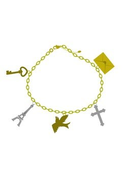 Bracelet with motif