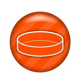 Petri dish symbol