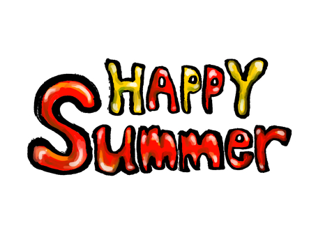 HAPPY SUMMER 赤