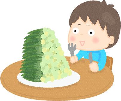 Small green onion