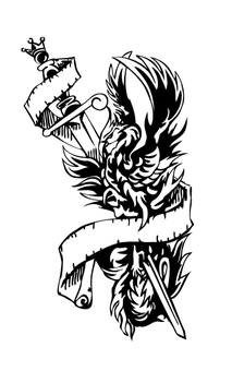 Tattoo style Phoenix 2