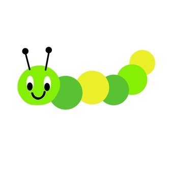 綠色系,是Tsukubaru的多彩昆蟲