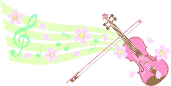 봄의 바이올린
