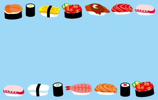 Sushi frame