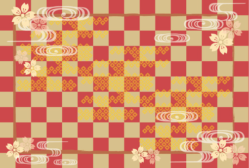 Japanese pattern sideways