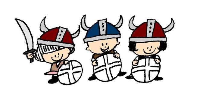 Viking it's okay!