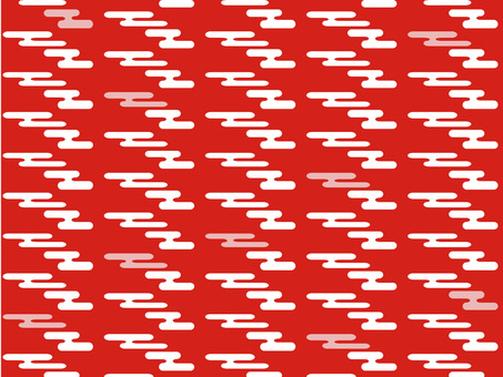 Chiyoda paper clouds (red)