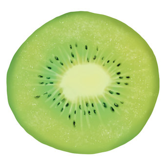 Kiwi fruit (without skin)