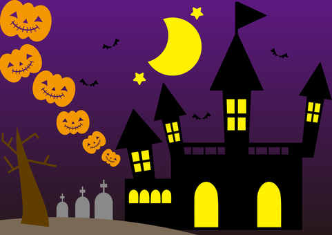 Halloween illustration (color)