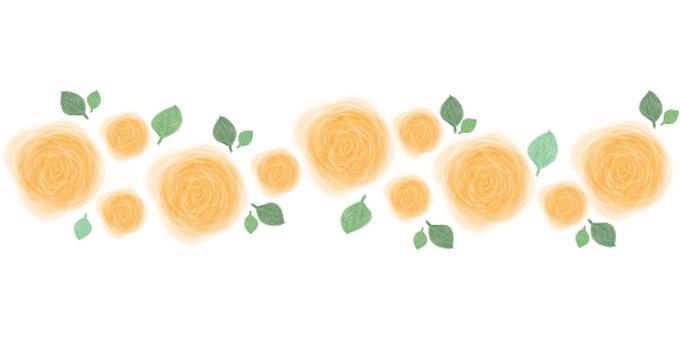 Rose Line Orange