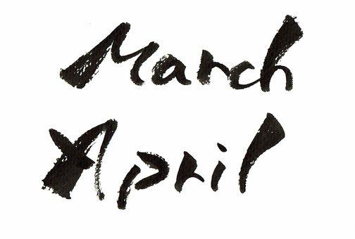 3 월 4 월