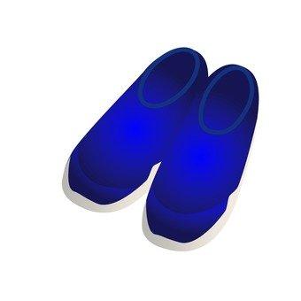 Sneakers (blue)