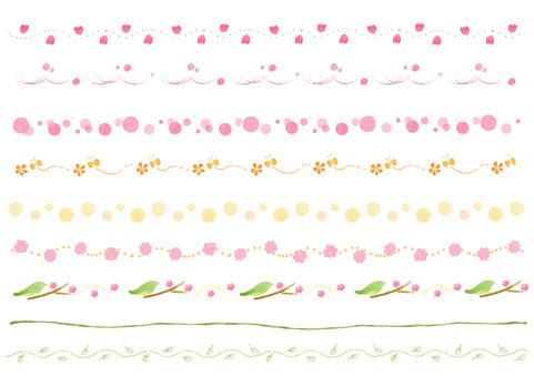 Spring line · Cherry blossom line