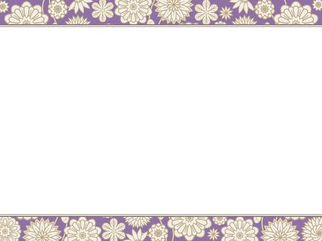 Botanical pattern frame 31
