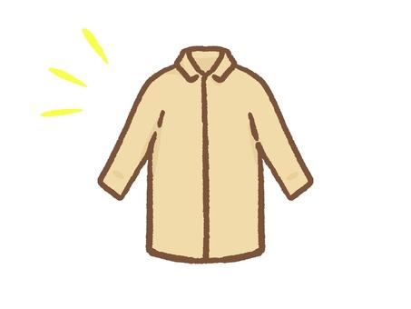 코트 나 셔츠 등의 탑