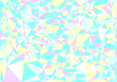 Pastel polygon vector background material