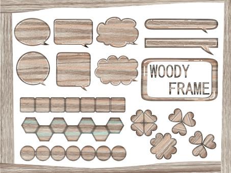 Woody frame reform