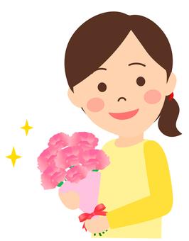 Women who get flowers