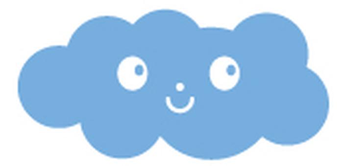 Smile _ cloud _ icon