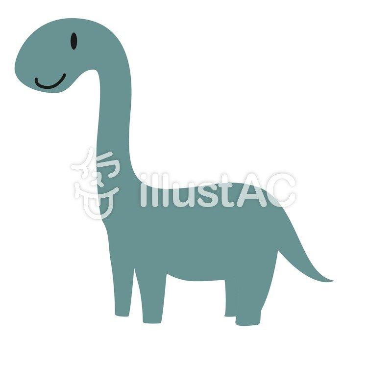 イラスト素材:ブラキオサウルス