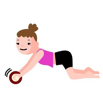 Abdominal muscle roller 4