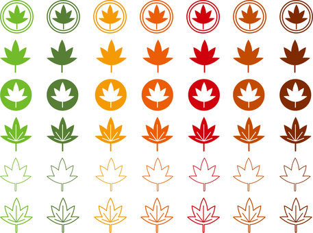 Maple icon set