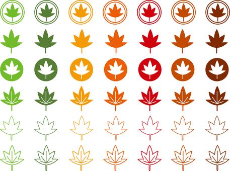 楓樹圖標集