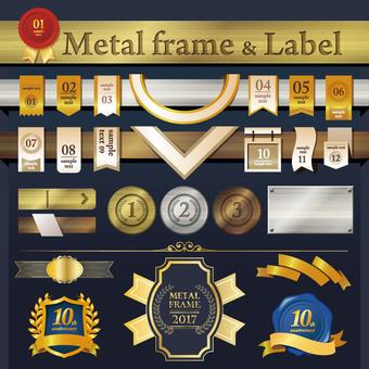 Metal / Label / Frame / Frame Set