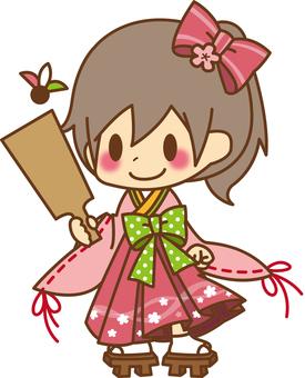 Girls * New Year kimono