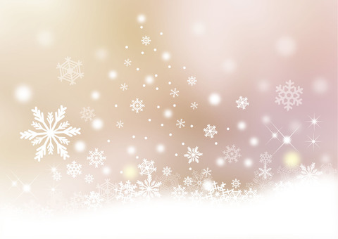 Snow scene _ pale background
