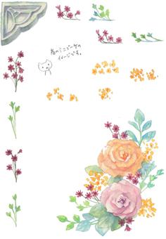 玫瑰迷你花束