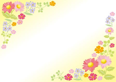 봄 꽃의 프레임 5