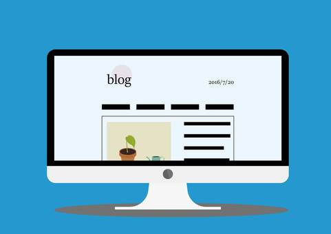 Blog screen